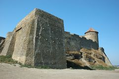 Old Akkerman fortress ,Ukraine Royalty Free Stock Images