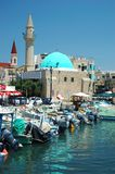 Old Akko harbor,Israel unesco heritage Royalty Free Stock Photography