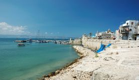 Old Akko panorama view,Israel Royalty Free Stock Images