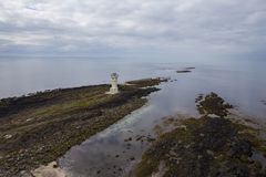 Old Akranes Lighthouse stock images