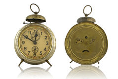 Old Alarm Clock. Royalty Free Stock Images