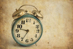 Old alarm clock Stock Images