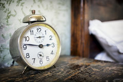 Old alarm clock Royalty Free Stock Photo