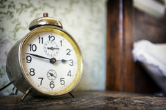 Old alarm clock Stock Photography