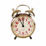 Old alarm clock Royalty Free Stock Photos