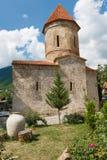 Old Albanian church in Kish Azerbaijan Stock Photo