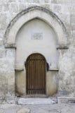 Old Albanian Jotari church in Azerbaijan Royalty Free Stock Images