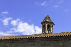 Old Albanian Jotari church in Azerbaijan Stock Photos