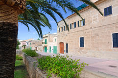 Old Alcudia city Royalty Free Stock Images