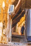 Old Algiers. Old streets in Algiers, the capital of Algeria stock photos