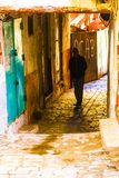 Old Algiers. Old streets in Algiers, the capital of Algeria stock photography