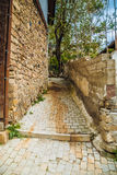 Old alley in Ankara Stock Photo