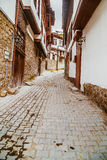 Old alley in Ankara Royalty Free Stock Image