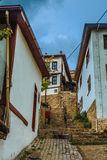 Old alley in Ankara Stock Image