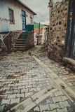 Old alley in Ankara Stock Photography