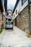 Old alley in Ankara Stock Images