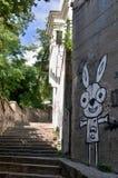 Old alley in Bratislava -Slovakia Royalty Free Stock Photo