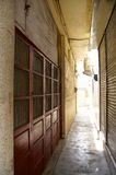 Old alley in central Taiwan Royalty Free Stock Images