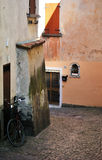 Old alley in Italy Royalty Free Stock Images