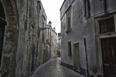 Old alley  in Lecce Royalty Free Stock Image