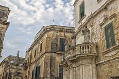 Old alley  in Lecce Royalty Free Stock Photography