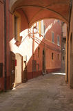 Old alley at Panicale Stock Photography