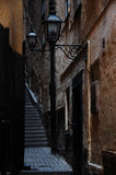 Old alley Royalty Free Stock Photography