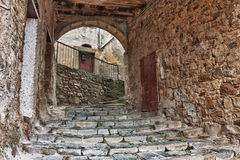 Old alley in Tuscany Royalty Free Stock Images