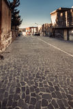 Old alley in Urfa city Stock Images
