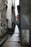 Old alley in Xitang Stock Photo