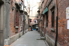 Old alleyway Stock Photo