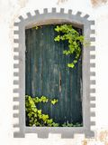 In the old alleyways of Faro on the coast of southern Portugal Royalty Free Stock Photo