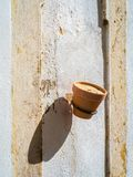 In the old alleyways of Faro on the coast of southern Portugal Royalty Free Stock Image