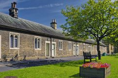 Old Almshouses Stock Photography