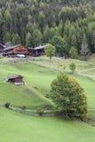 Old alp farm Royalty Free Stock Photo