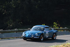 Old Alpine Renault A110 Royalty Free Stock Images