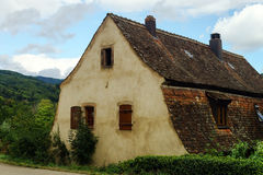 Old alsacien house in small village Stock Images