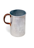 The old aluminium mug Royalty Free Stock Photography