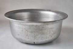 Old aluminum kitchen utensils Royalty Free Stock Photo