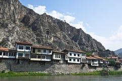 Old Amasya Houses stock images