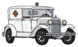 Old ambulance Royalty Free Stock Images