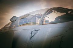Old american aircraft fighter Stock Photography