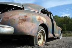 Old American car from the 1940's Stock Images