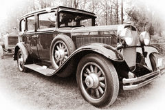Old American car stock image