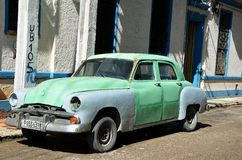 Old American car in Havana, Cuba. Havana and typical American car, Cuba stock photography