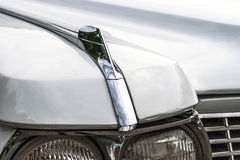 Old american car headlight detail Stock Photography