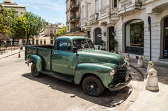 Old American car on street Stock Photography