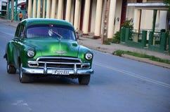 Old American car in Vinales, Cuba Stock Image