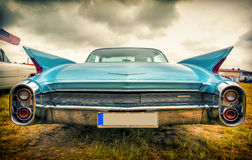 Old american car in vintage style Royalty Free Stock Images