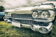 Old american car in vintage style Stock Photos